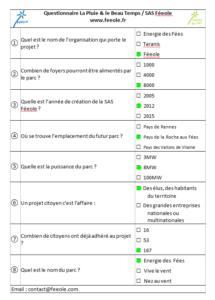 RéponseQuestionnaire